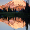 312  G Rainier Morning Upper Tipsoo Lake V