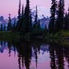 276  G Rainier Morning Upper Tipsoo Lake Close V