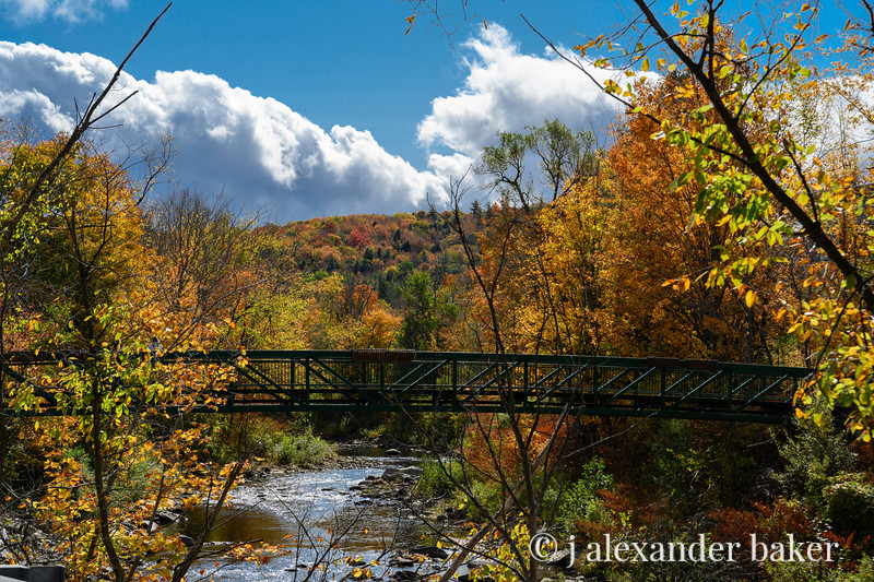 Foot bridge, Wilmington, VT