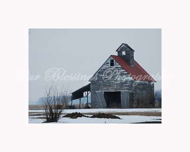 I stumbled across this old barn out on a country road in Logan Co.