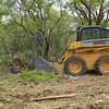 Clearing brush is a high ranking practice for land management at Stasney's Cook Ranch in Albany, Texas such as eliminating prickly pear and mesquite trees.