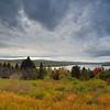 View From Overlook S of Rangeley