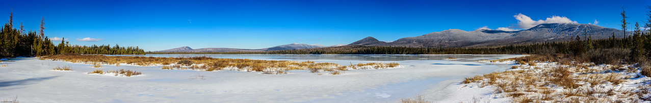 Saddleback Lake panorama