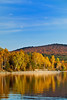 Fall colors on Aziscohos Lake