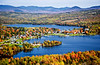 Rangeley fall aerial