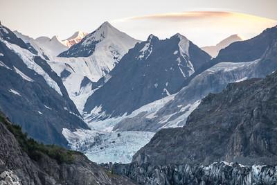 Margerie Glacier at Dusk, Glacier Bay National Park.