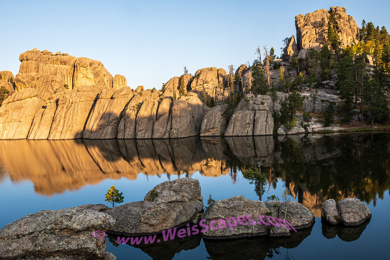 Sunrise at Sylvan Lake