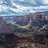 Morning on the rim of the Colorado National Monument,
