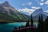 Light and shadows across Saint Mary Lake, Glacier National Park.