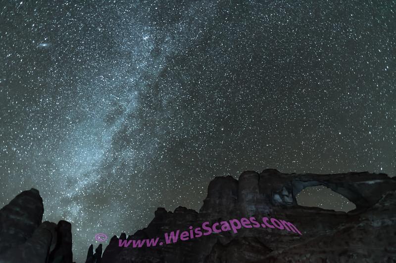 Milky Way at Skyline Arch