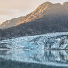 Sunrise over Lamplugh Glacier