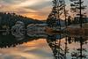Sunset at Sylvan Lake