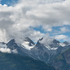 Clouds over the Chilkat Moountain Range, Haines Alaska.