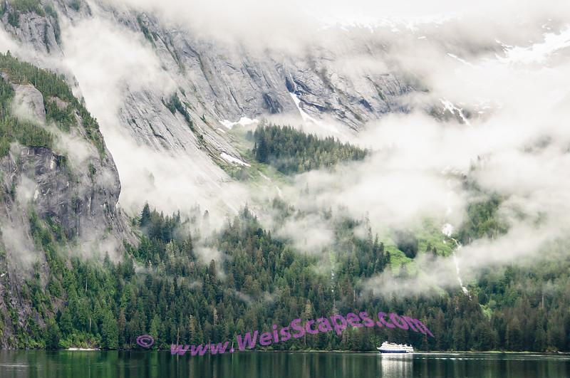Cruising thru Misty Fjord National Monument, AK.