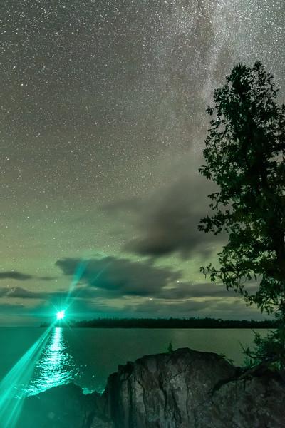 Milky Way over Copper Harbor