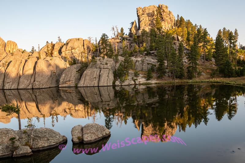 Sunrise at Sylvan Lake