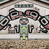 Tlingit Tribal House, Glacier Bay National Park, Alaska.