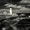 Portland Lighthouse  (infrared)