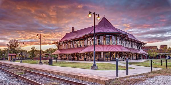 Hamlet Railroad Depot and Museum in Hamlet, NC