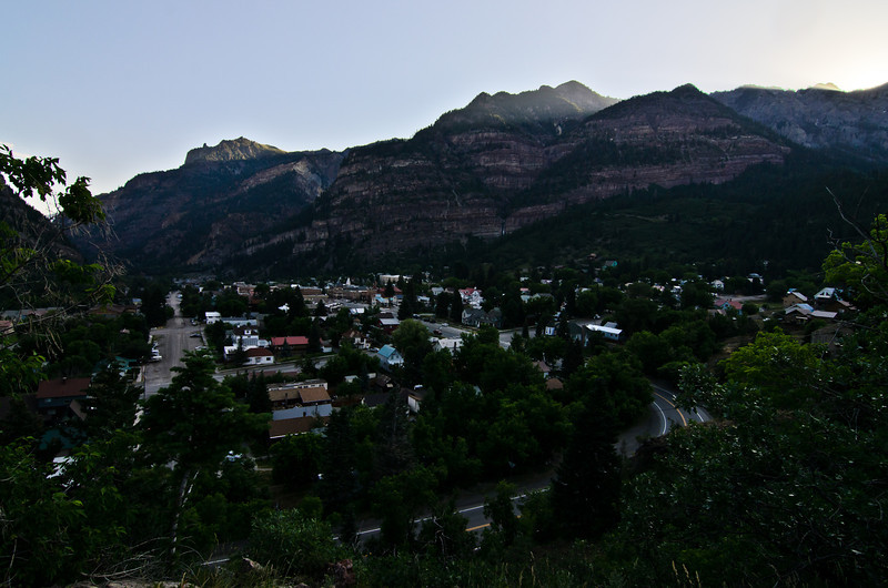 After the mining town, I reached my destination of Ouray.