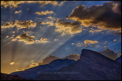 Sunset hike on Kraft Mountain.