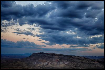 Sunset on Kraft Mountain.