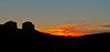 Cathederal buttes and sedona sunset