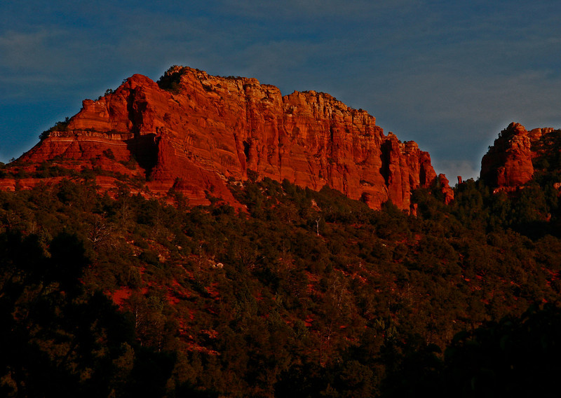 Oak Creek Canyon wall