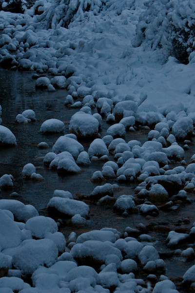 Snow muffins