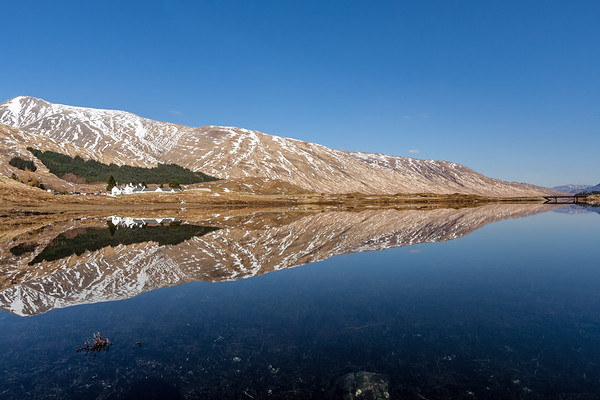 Reflections on Loch Cluanie