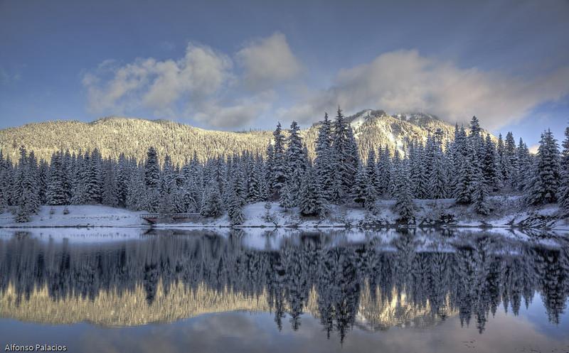Gold Pond. Snoqualmie Pass, WA