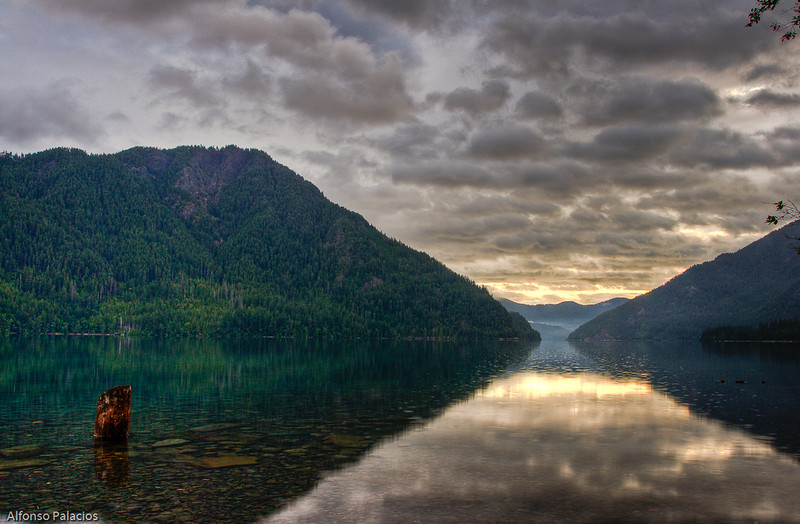 Crescent Lake, Olympic Peninsula, WA
