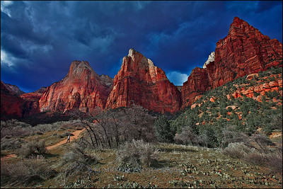 Three Patriarchs, Zion.