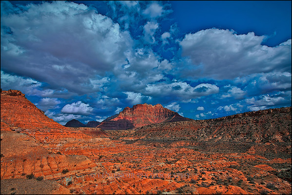 Zion Colors and Clouds.