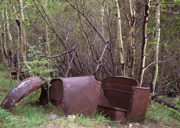 Model T Left Behind