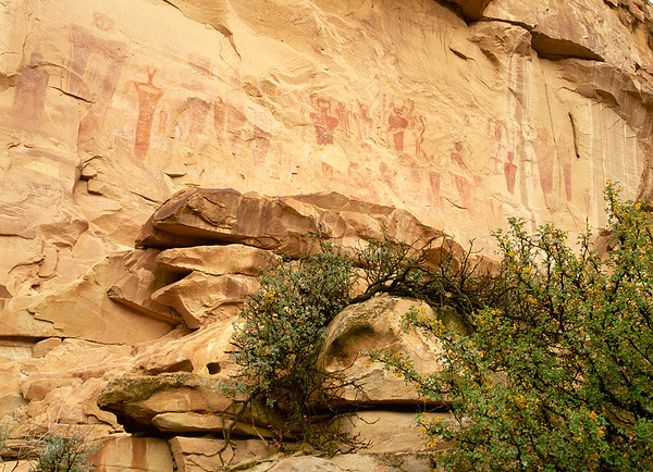 Ancient Freemont pictographs