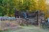 Old root cellar and cabin