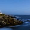Blue Hour at Beavertail Lighthouse