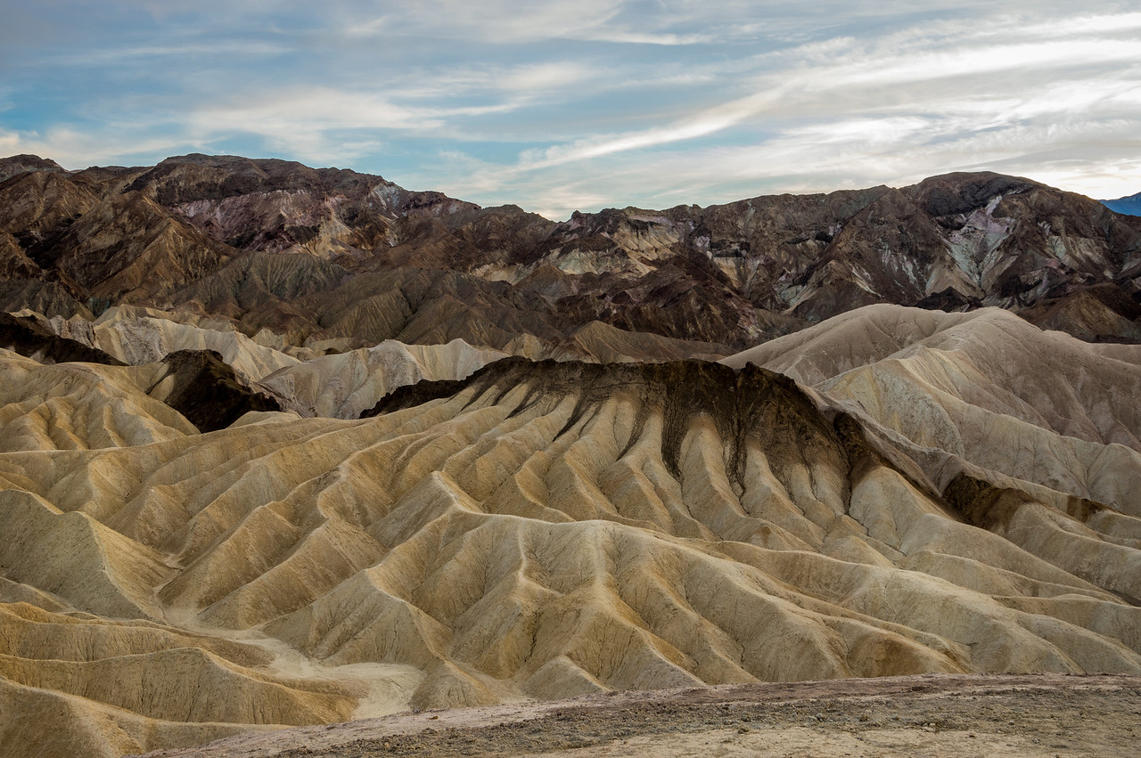 near Zabriskie Point