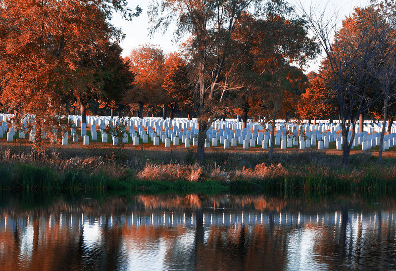"""Reflecting on """"The Ultimate Sacrifice"""" - Fort Snelling  - Minnesota"""