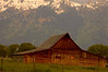 Amish Barns - Tetons National Park