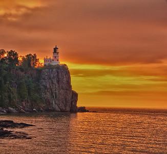 Sunrise over Split Rock - Minnesota