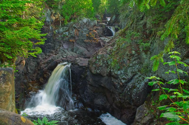 Three falls - northern Minnesota
