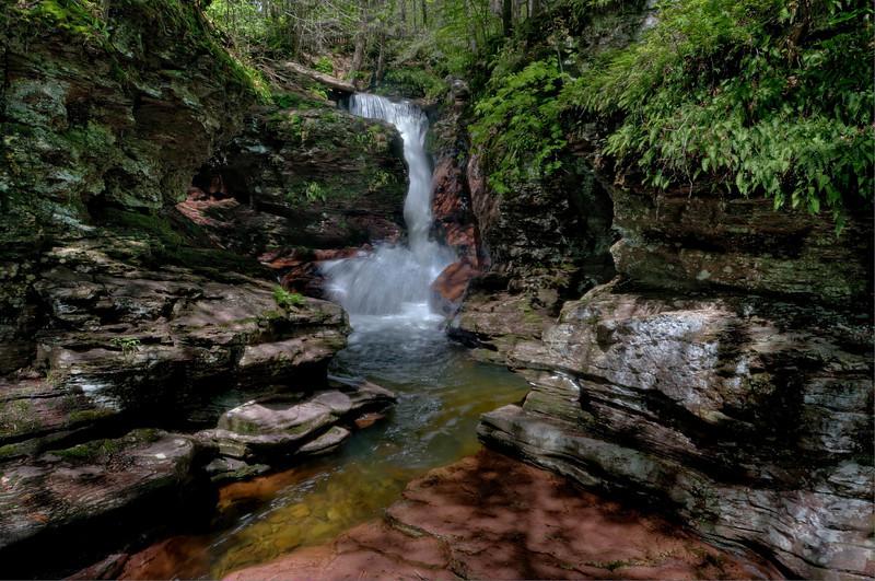 Adams Falls 1 (HDR)