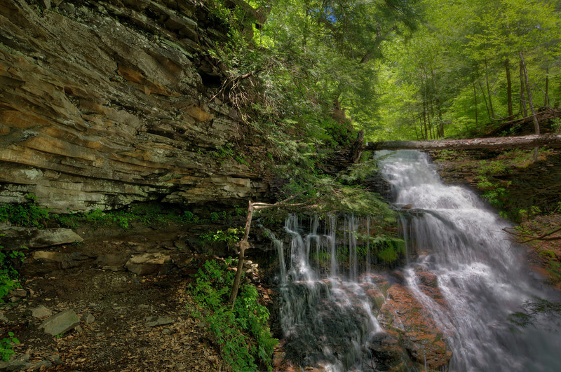 Ganoga Falls 3 (HDR)