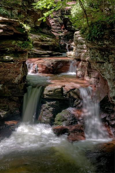 Adams Falls 4 (HDR)