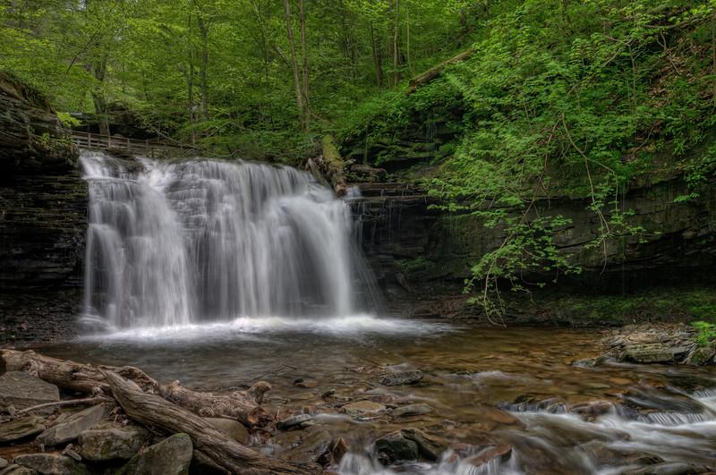 Wyandot Falls (15 ft)