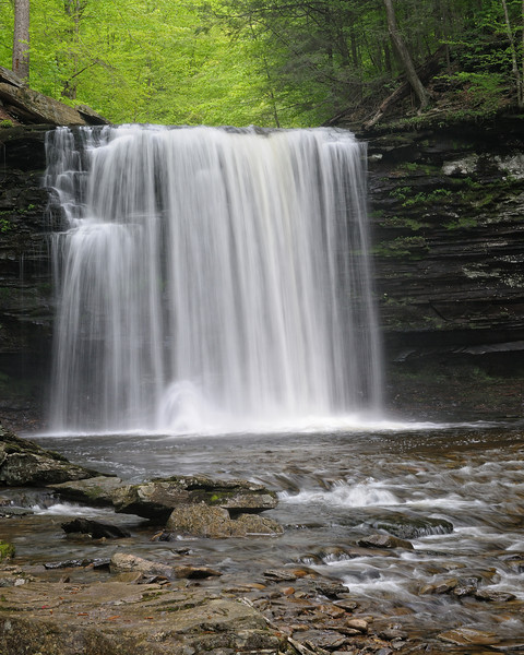 Harrison Wright Falls (27 ft)