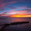 01/12/2013 – 16:56 Tramonto a Riomaggiore, Cinque Terre, Riviera Ligure di Levante, La Spezia Italy