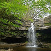 Gibson's Cave waterfall